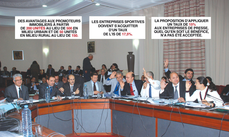Plusieurs amendements introduits,  sur fond d'un débat houleux