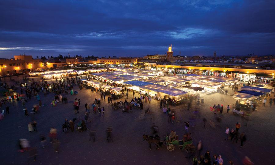 Marrakech : elle reste en pôle position dans les catalogues de distribution des circuits touristiques.