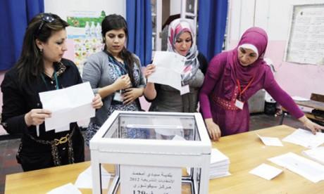 Les Algériens ont répondu à l'appel  des urnes