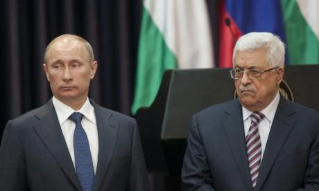 Abbas sollicite l'aide de Poutine