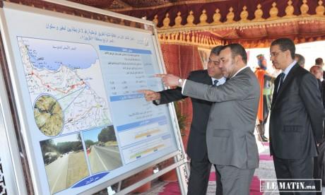 S.M. le Roi Mohammed VI lance plusieurs projets de développement économique et social à Oujda