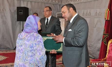 Sa Majesté le Roi Mohammed VI donne un coup d'accélérateur aux projets de l'INDH à Oujda