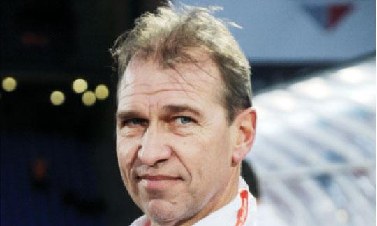 Pim Verbeek, directeur sportif des équipes nationales. Ph. Saouri