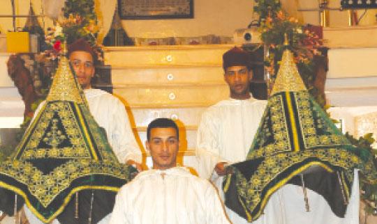 Le déroulement d'un mariage au Maroc