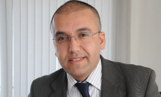 Mohamed Benouarrek  Directeur pôle stratégie,  organisation et capital  humain Groupe PROMAMEC