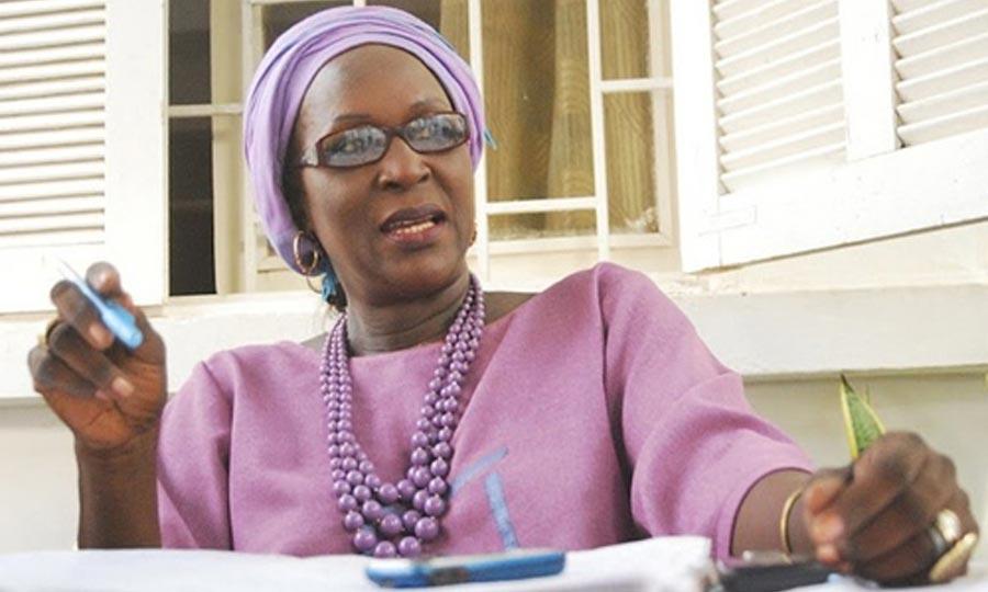 Amsatou Sow Sidibé, ministre-conseiller à la présidence, dénonce l'insuffisance de la volonté politique des Etats dans la lutte contre le blanchiment des capitaux. (Photo : www.rewmi.com)