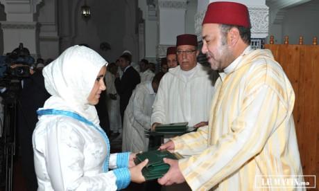 Amir Al-Mouminine donne à Marrakech le coup d'envoi du programme de lutte contre l'analphabétisme dans  les mosquées au titre de l'année scolaire 2012-2013