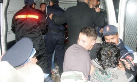 Traque des malfaiteurs  à Mohammedia