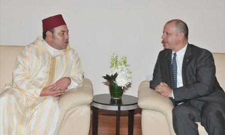Arrivée à Amman de S.M. le Roi Mohammed VI