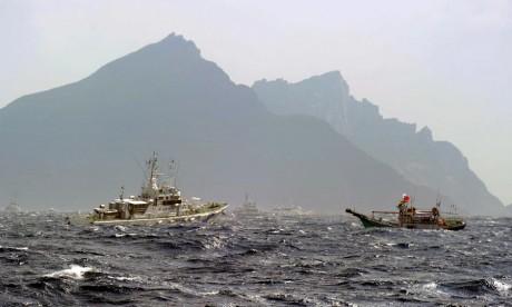 4 navires chinois défient le Japon