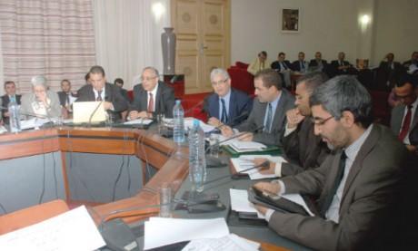 Le projet de budget adopté en commission