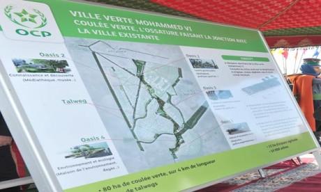 «Locomotive de développement de la ville verte»