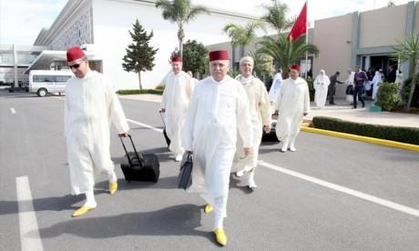 La délégation officielle marocaine regagne le Royaume