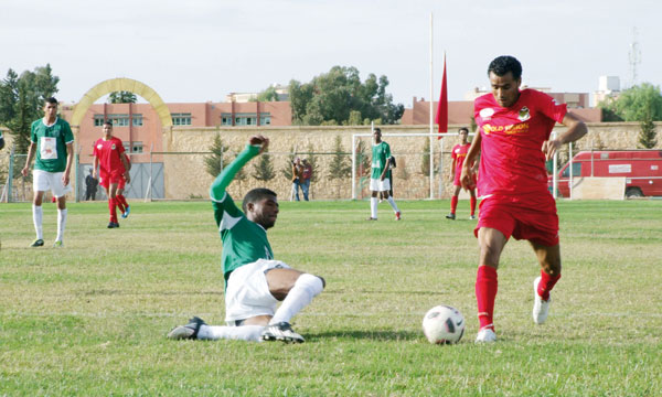 Sud : Souk Sebt tombe à domicile Nord : Stade Marocain reprend les commandes