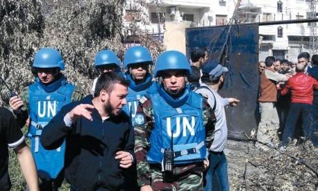 «Les soldats marocains font un travail remarquable»