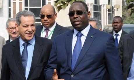Laenser reçu en audience à Dakar
