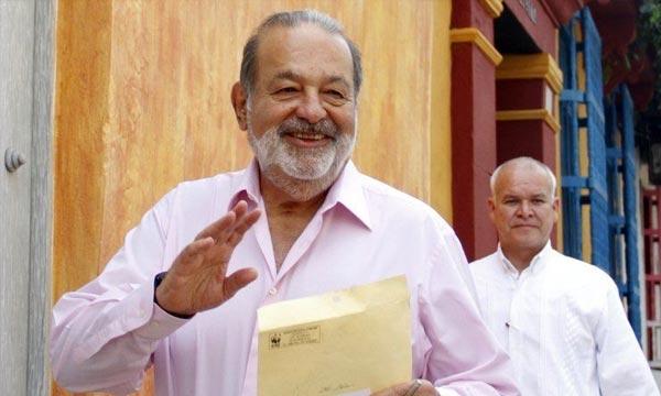 Pour la 4e année consécutive, Carlos Slim est l'homme le plus riche au monde, selon le classement 2013 de «Forbes», qui compte un nombre record de 1.426 milliardaires. (Photo : AFP )