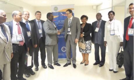 Ghellab s'entretient avec plusieurs présidents de Parlements africains