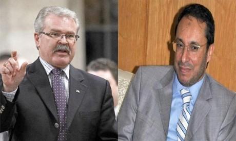 Entrevue entre Amara et Gerry Ritz à Ottawa