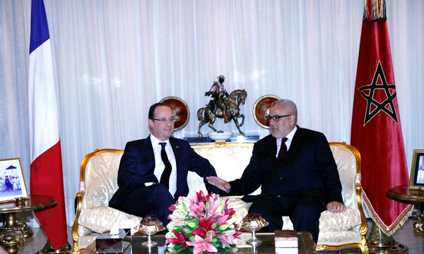 Le Président français, François Hollande quitte le Maroc, au terme d'une visite officielle de deux jours dans le Royaume. (Photo : MAP)