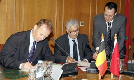 La Belgique accompagne le Maroc