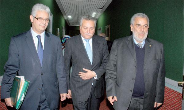 Ce remous politique constitue une épreuve majeure pour Abdelilah Benkirane (à droite).    Ph Kartouch