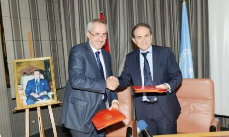 RAM contribue à la  promotion des actions  humanitaires de l'ONU
