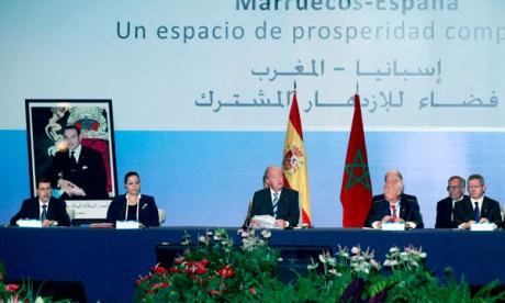 Ouverture des travaux du Forum  économique Maroc-Espagne à Rabat