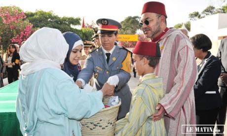 Sa Majesté le Roi Mohammed VI lance l'opération  «Ramadan1434» et pose la première pierre  de la Maison du jeune diabétique à Rabat
