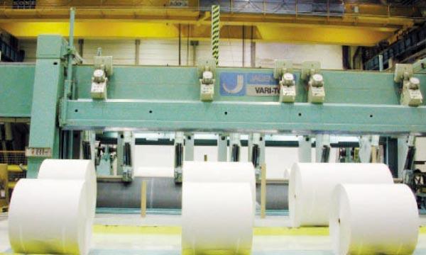 Avec une production annuelle de 500000tonnes, les quatre poids lourds  de l'industrie du papier couvrent à peine 40% de la consommation locale.
