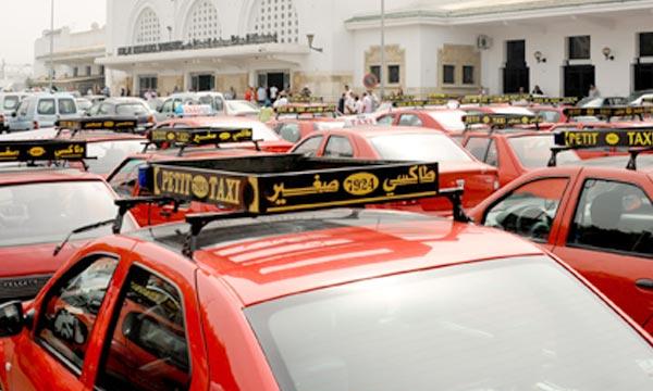 Le ministère de l'Intérieur répond aux inquiétudes des transporteurs des taxis. Des mesures envisagées en vue de compenser les dépenses supplémentaires entrainées par l'indexation des prix du carburant. (Photo :  marocpress.com)