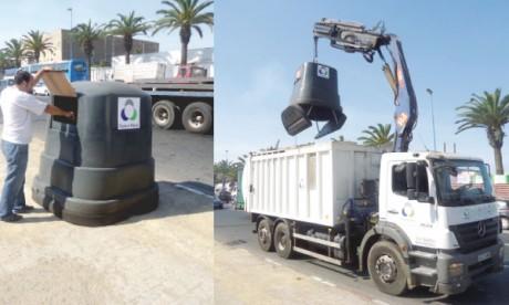 Un nouveau système de collecte des déchets