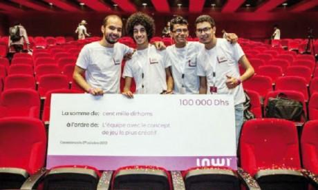 Un jeu d'obstacles remporte le concours Inwidays
