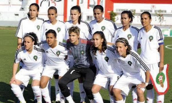 L'équipe nationale féminine.