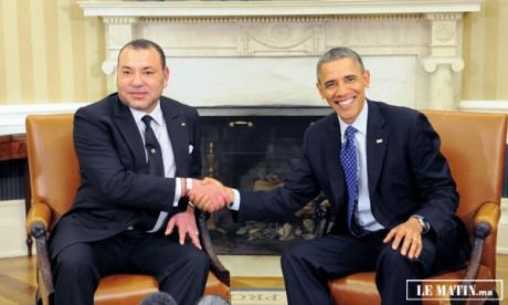 Le Président Barack Obama reçoit Sa Majesté  le Roi Mohammed VI à la Maison Blanche