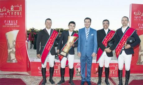 Son Altesse Royale le Prince  Moulay Rachid préside à Rabat la finale de la première édition