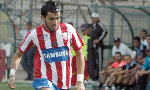Ahmed Jahouh, joueur du Moghreb de Tétouan