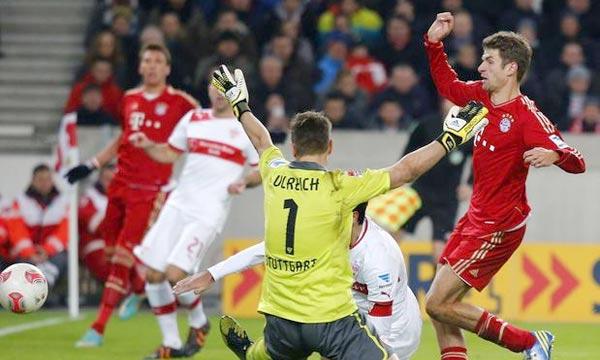 Le Bayern se déplace à Stuttgart pour son match en retard de la 17e journée de Bundesliga avec pour objectif de prendre 13 points d'avance en tête du Championnat et ainsi d'entrevoir le titre dès le mois de mars. Ph : sports.terra.com