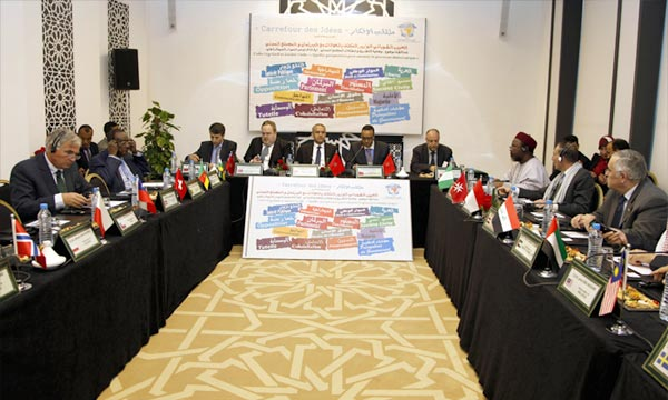 Le ministre chargé des Relations avec le Parlement et la Société civile, Lahbib Choubani, intervenant,  lors d'une rencontre sur la situation de la législation et les attentes de la société civile. Ph : MAP