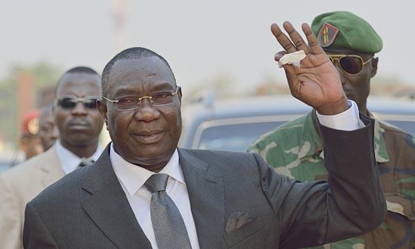 Le président Michel Djotodia a annoncé, depuis N'Djamena, sa démission, laissant entrevoir une lueur d'espoir de retour à la normale en Centrafrique. Ph : AFP