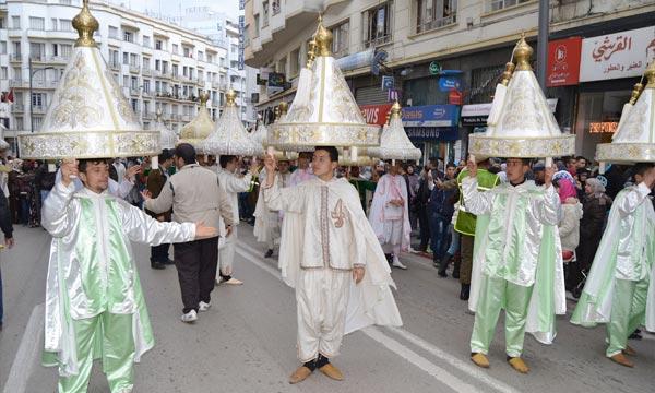 Célébration à Tanger du moussem de Sidi Bouarrakia à l'occasion de l'Aid Al-Mawlid. Ph : MAP