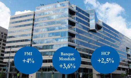 Croissance : le FMI et la Banque mondiale plus optimistes que le HCP