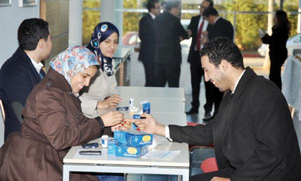 De nombreuses opérations de dépistage du diabète ont été assurées au profit  des adhérents volontaires.