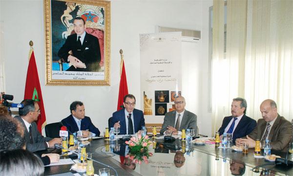 L'objectif primordial, comme l'a assuré Mehdi Qotbi, est de servir le patrimoine et servir le Maroc.
