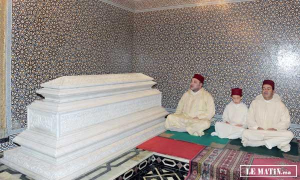 Sa Majesté le Roi, Amir Al-Mouminine, préside à Rabat une veillée religieuse