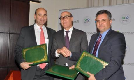L'OFPPT consolide son partenariat  avec Microsoft Maroc