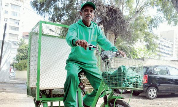 Mustapha El Hamri travaille «écolo».