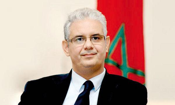 Nizar Baraka, président  du Conseil économique, social  et environnemental (CESE).