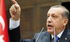 Recep Tayyip Erdogan, plongé dans un scandale financier, a menacé de faire interdire YouTube et Facebook.