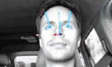 Volvo teste un détecteur  oculaire